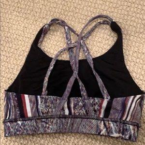lululemon athletica Other - Size 2 patterned sports bra